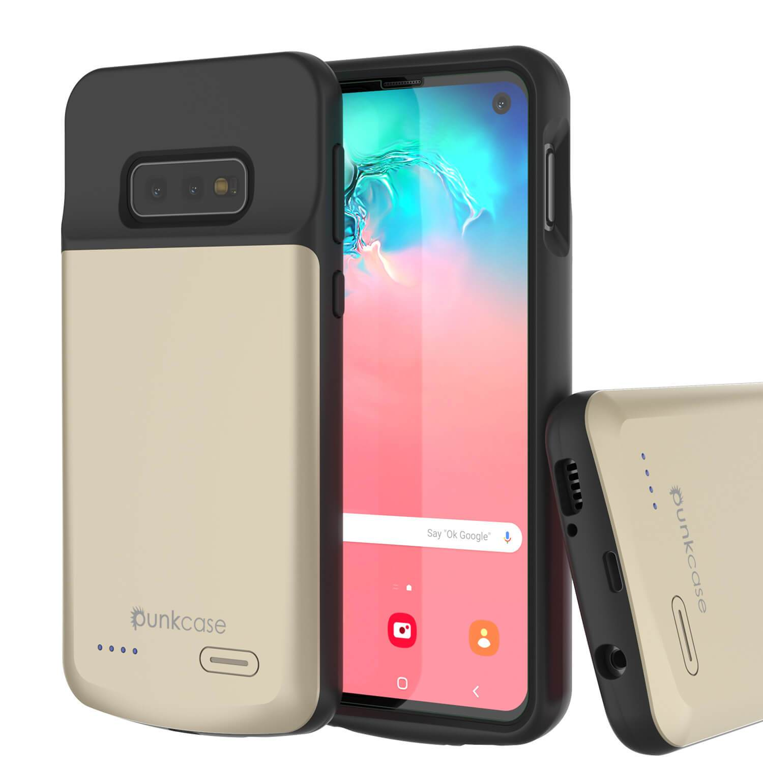 PunkJuice S10e Battery Case Gold - Fast Charging Power Juice Bank with 4700mAh