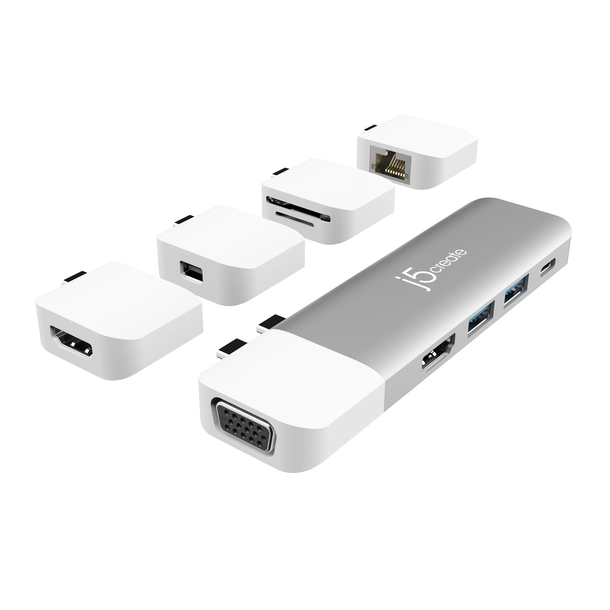 JCD389 ULTRADRIVE Kit USB-C Multi-Display Modular Dock