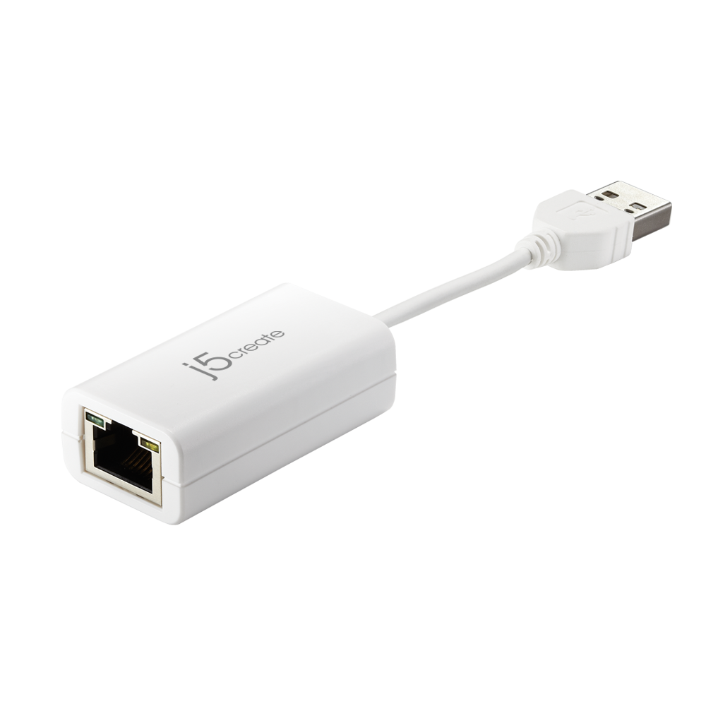 JUE125 USB 2.0 Ethernet Adapter