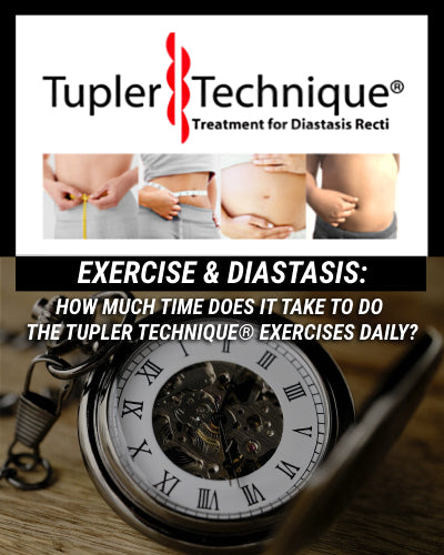 HOW MUCH TIME DOES IT TAKE TO DO THE TUPLER TECHNIQUE® EXERCISES DAILY?