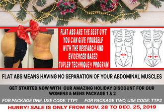 Tupler Technique® Holiday Sale!! Get Your Flat Abs Here!
