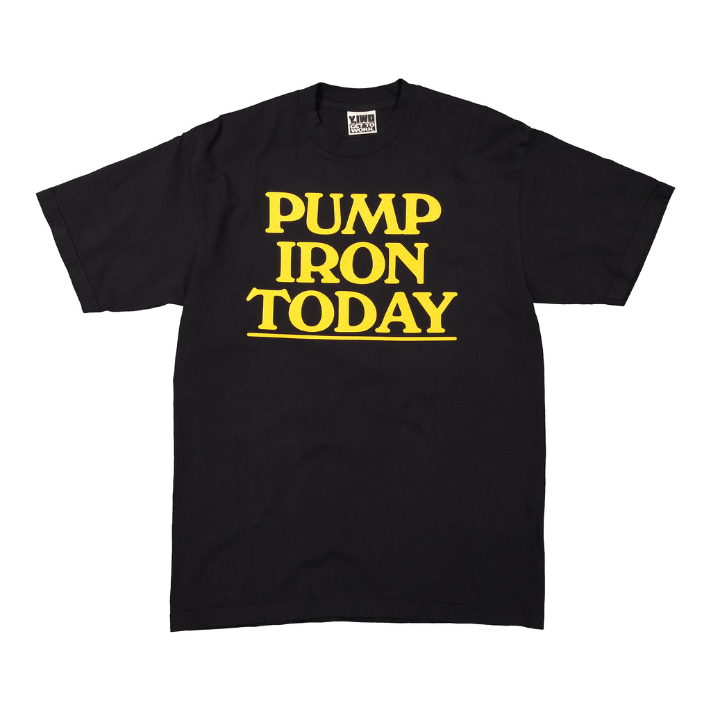 Lessons: Pump Iron Today Tee