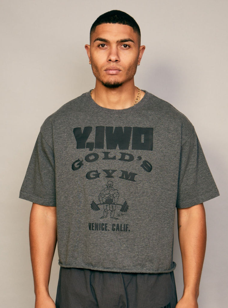 "Gold's Cropped ""The Mecca"" Tee"