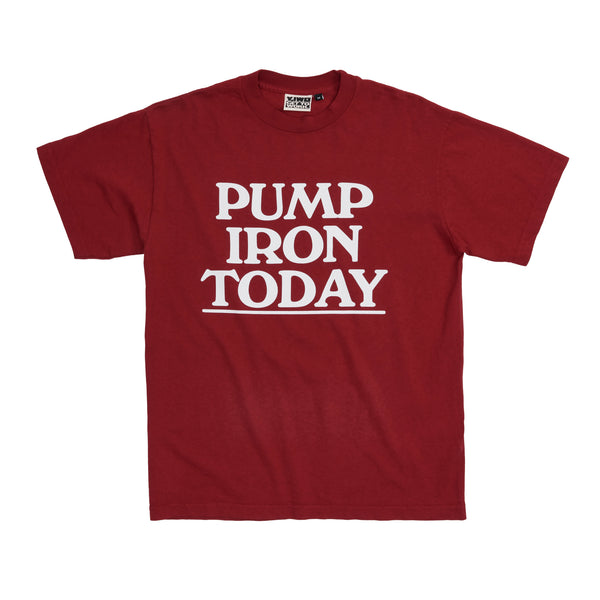 * NEW Lessons: Pump Iron Today Tee