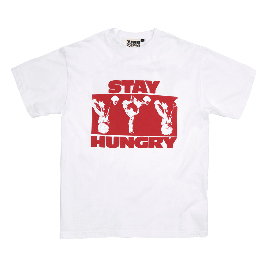 * NEW Lessons: Stay Hungry Tee