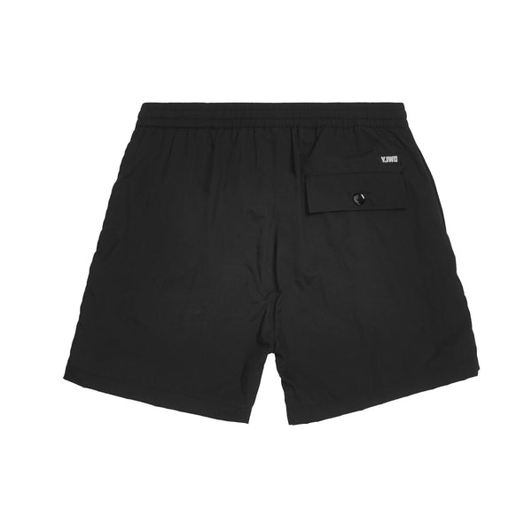 Club Sweat Shorts | Black/Red