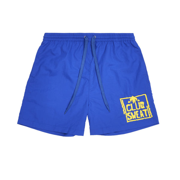 Club Sweat Shorts | Blue/Yellow
