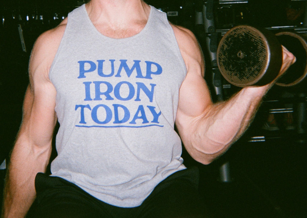 **NEW Lessons: Pump Iron Today Classic Tank