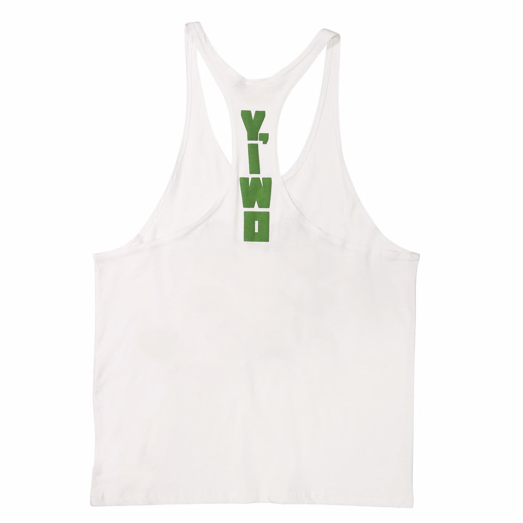 "Club Sweat ""Gym Bums"" Stringer Tank"
