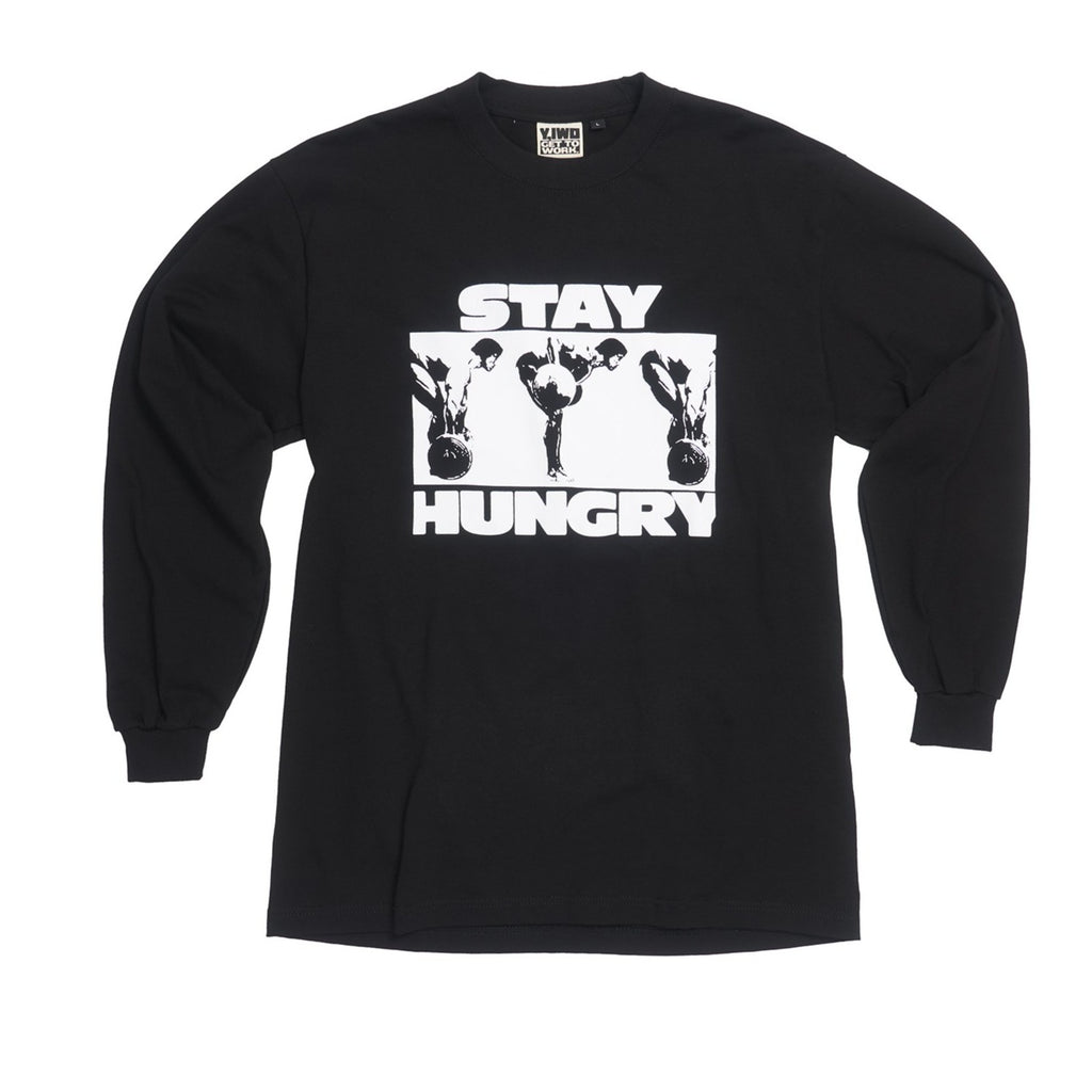 Lessons: Stay Hungry Long Sleeve