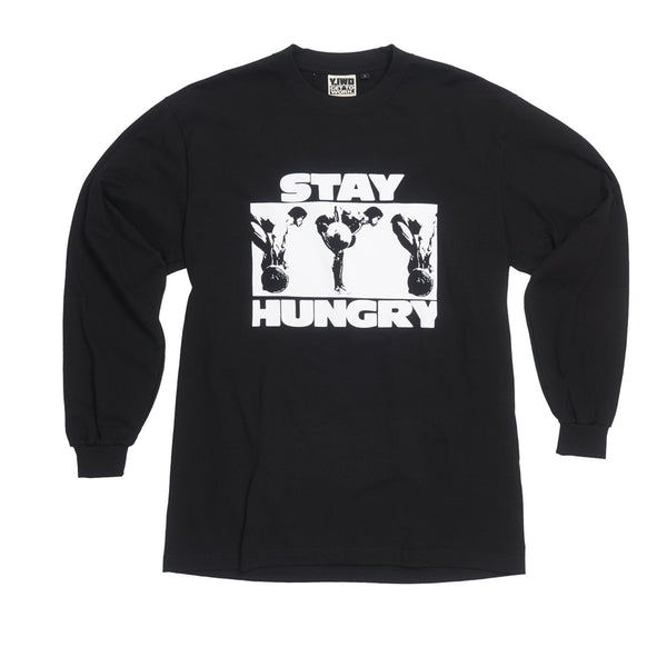 **NEW Lessons: Stay Hungry Long Sleeve