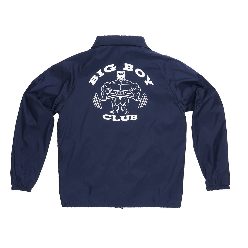 "**NEW Club Sweat ""Big Boy Club"" Coach Jacket"