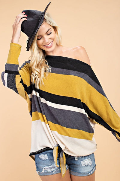 Anderson Color Block Sweater