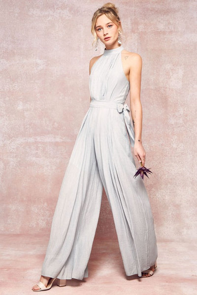 Simple Elegance Seafoam Jumpsuit