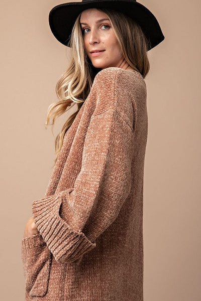 Cella Chenille Cardigan