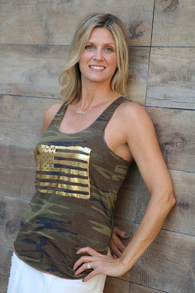 The Golden Flag Camo Tank