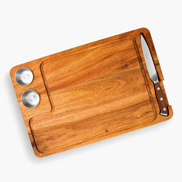 Premium Acacia Wood Steak Serving Board