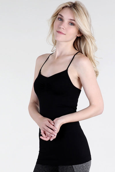 Black NikiBiki Strappy Back Cami