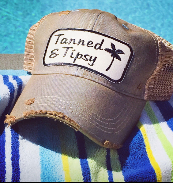 Tanned and Tipsy Trucker Hat