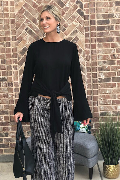 Stunning Black Ashley Top
