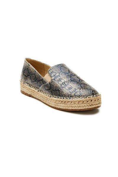 Peaches Natural Snake Espadrille