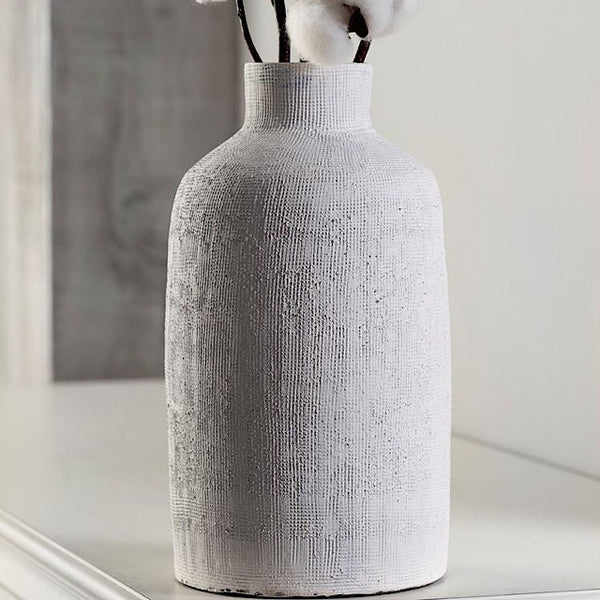 Large Textured Ceramic Vase