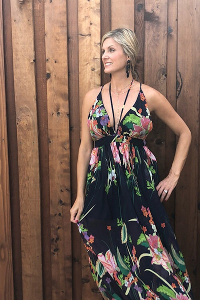 Tropical Bliss Maxi Dress