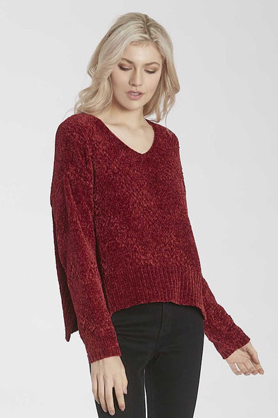 Chenille Cherry Sweater