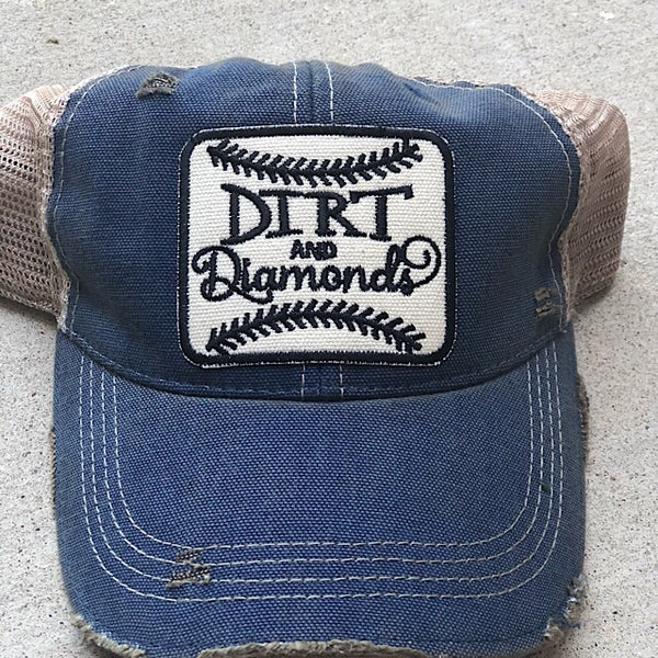 Diamonds Baseball Trucker Hat