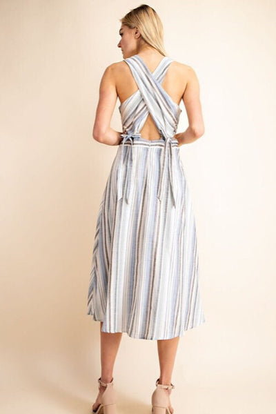 Monterey Stripe Dress