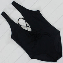 High Cut One Piece Swimsuit