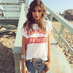 The Mermaid Off Duty T-Shirt