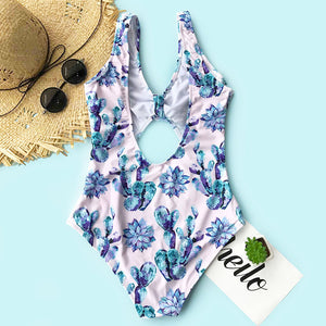 The Floral Tie One Piece