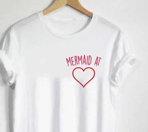 The Mermaid at Heart Tee