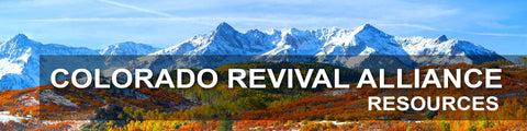 COLORADO REVIVAL ALLIANCE CHURCHES - SERMON SERIES