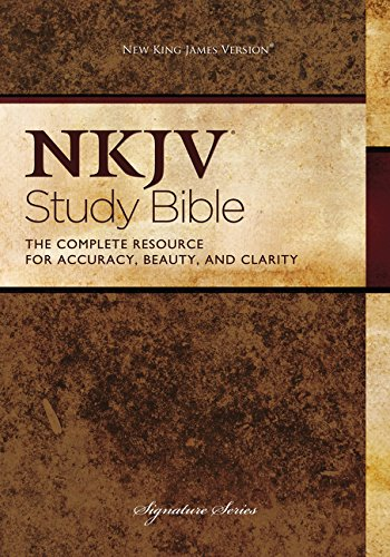 NKJV Study Bible. Hardcover: Second Edition