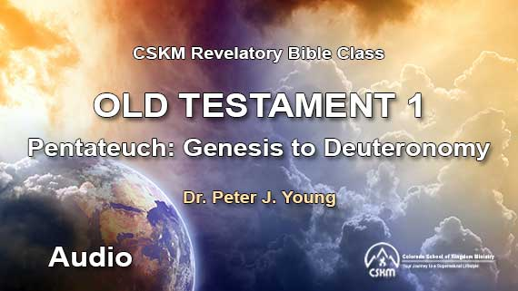 Old Testament 1: Revelatory Bible Class (Audio) with Peter J  Young -  Pentateuch: Genesis to Deuteronomy