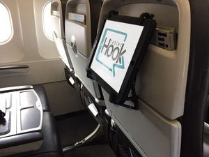TabletHookz on the plane