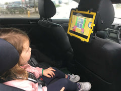 Use TabletHookz to provide entertainment in the car on those long journeys
