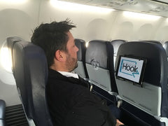 TabletHookz on the airplane, global travel after COVID-19