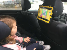 Load image into Gallery viewer, ipad holder for the car tablethookz tablethookz.com car headrest tablet mount