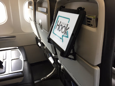 Using TabletHookz on British Airways - now you can have entertainment in your airline seat - visit TabletHookz.com for more details.