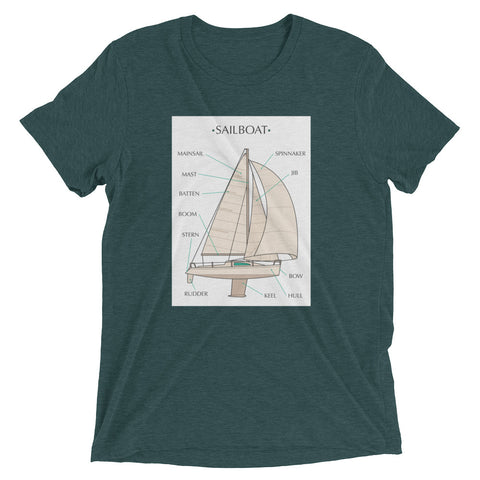 Sailboat Lingo Tee