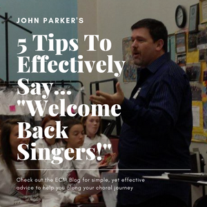Welcome Back, Singers!