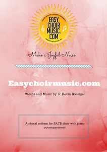 Make A Joyful Noise (SATB)