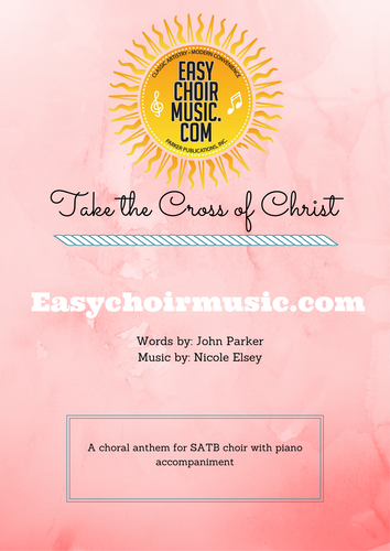 Take the Cross of Christ (SATB)