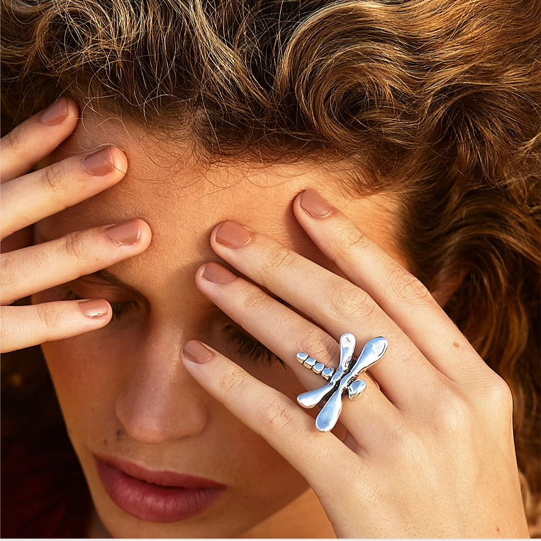 UNOde50 Dragonfly Ring