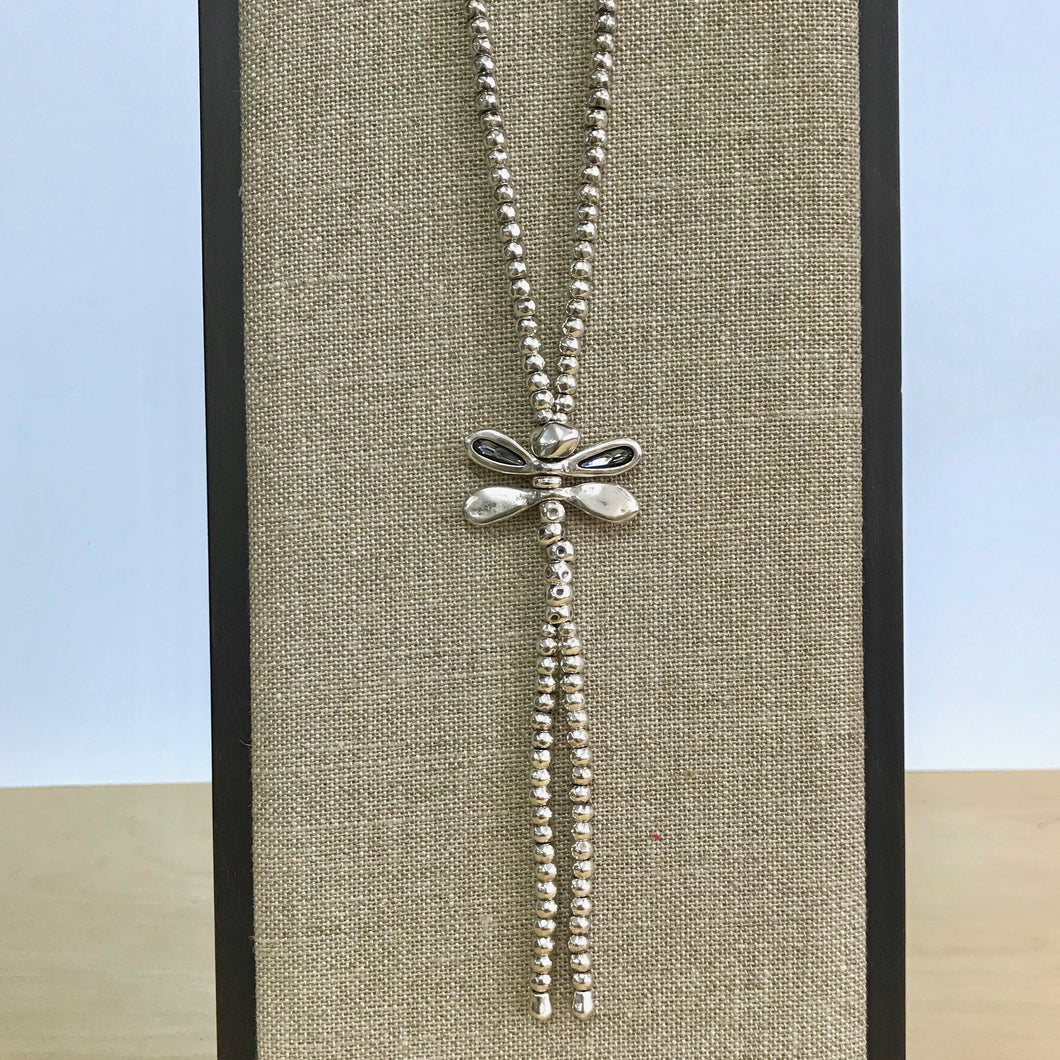 UNOde50 Dragonfly Long Necklace