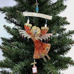 Washing Hands Angel Christmas Tree Ornament