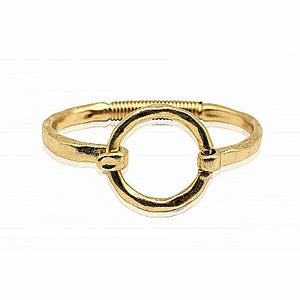 Artisan Jewelry Collection - Bracelet Gold Front Closure